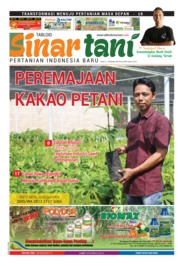 Sinar tani Magazine Cover ED 3769 October 2018