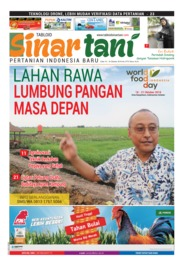 Sinar tani Magazine Cover ED 3770 October 2018