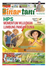 Sinar tani Magazine Cover ED 3771 October 2018