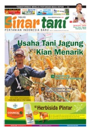 Sinar tani Magazine Cover ED 3772 October 2018