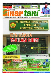 Sinar tani Magazine Cover ED 3773 November 2018
