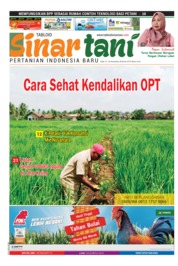 Sinar tani Magazine Cover ED 3774 November 2018