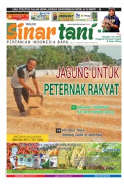 Sinar tani Magazine Cover ED 3775 November 2018