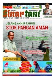 Cover Majalah Sinar tani ED 3778 Desember 2018