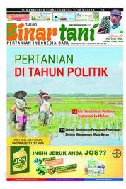 Cover Majalah Sinar tani ED 3780 Desember 2018