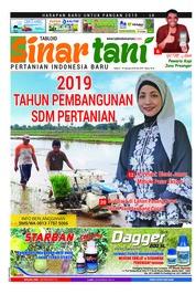 Cover Majalah Sinar tani ED 3781 Januari 2019