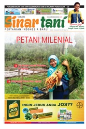 Sinar tani Magazine Cover ED 3783 January 2019