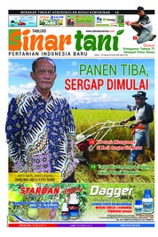 Cover Majalah Sinar tani ED 3785 Februari 2019