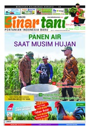 Sinar tani Magazine Cover ED 3786 February 2019
