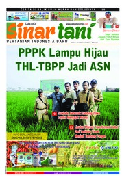 Sinar tani Magazine Cover ED 3787 February 2019