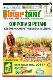 Sinar tani Magazine Cover ED 3788 February 2019