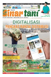 Sinar tani Magazine Cover ED 3789 March 2019