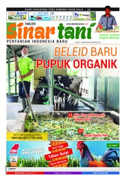 Sinar tani Magazine Cover ED 3790 March 2019