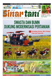 Sinar tani Magazine Cover ED 3795 April 2019