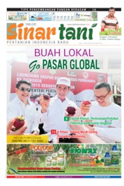 Sinar tani Magazine Cover ED 3793 April 2019