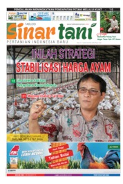 Sinar tani Magazine Cover ED 3794 April 2019