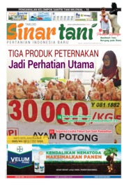 Sinar tani Magazine Cover ED 3800 May 2019