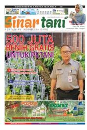 Cover Majalah Sinar tani ED 3801 Mei 2019