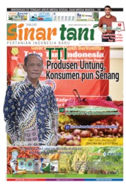 Sinar tani Magazine Cover ED 3803 June 2019