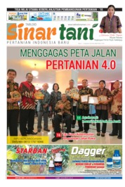 Sinar tani Magazine Cover ED 3809 August 2019