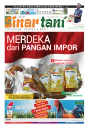 Sinar tani Magazine Cover ED 3810 August 2019