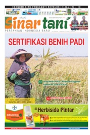 Sinar tani Magazine Cover ED 3812 August 2019