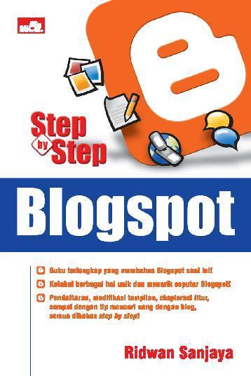 Buku Digital Step By Step Blogspot oleh Ridwan Sanjaya