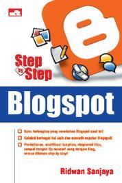 Step By Step Blogspot by Ridwan Sanjaya Cover