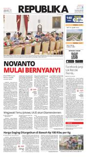Cover Koran Republika 23 Maret 2018