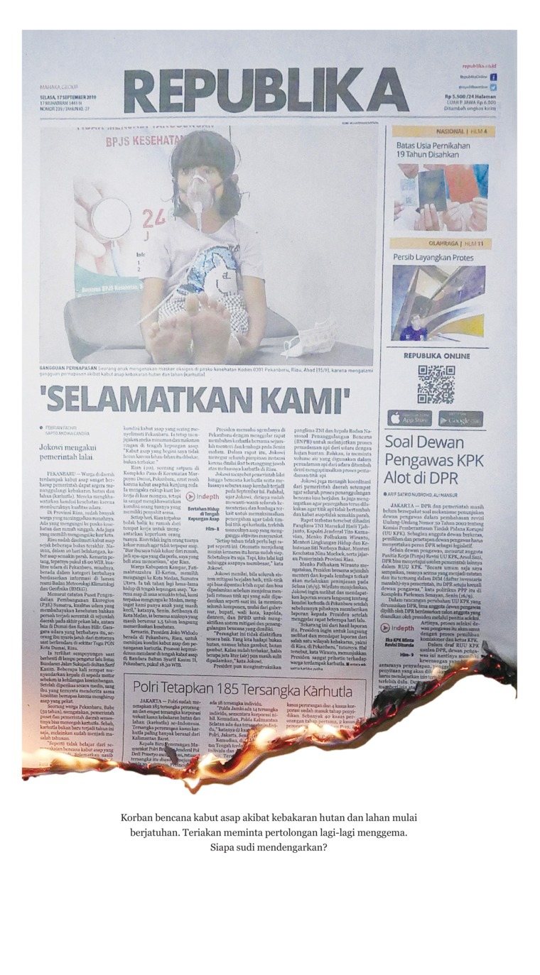Koran Republika Digital Newspaper 17 September 2019