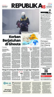 Cover Koran Republika 26 Februari 2018