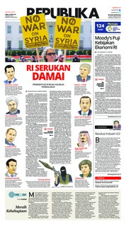 Cover Koran Republika 16 April 2018