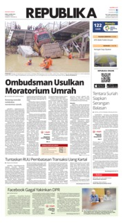 Cover Koran Republika 18 April 2018