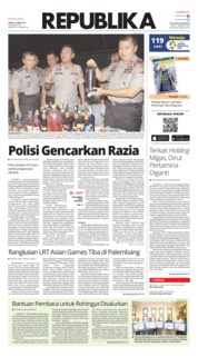 Cover Koran Republika 21 April 2018