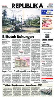 Cover Koran Republika 26 April 2018
