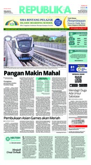 Cover Koran Republika 28 Mei 2018