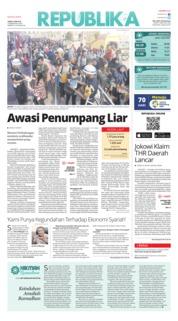 Cover Koran Republika 08 Juni 2018