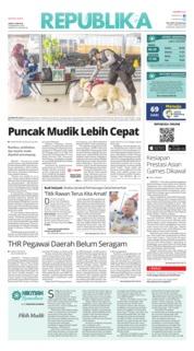 Cover Koran Republika 09 Juni 2018