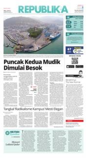 Cover Koran Republika 11 Juni 2018