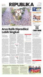 Cover Koran Republika 19 Juni 2018
