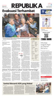 Cover Koran Republika 22 Juni 2018