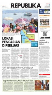 Cover Koran Republika 23 Juni 2018