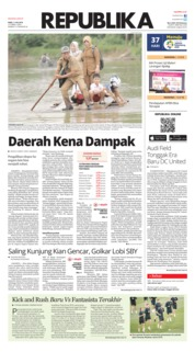 Cover Koran Republika 11 Juli 2018