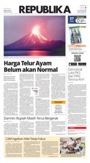 Cover Koran Republika 21 Juli 2018