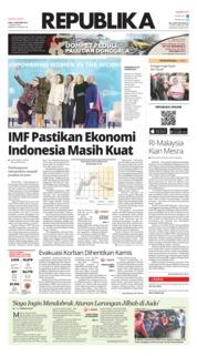 Cover Koran Republika 10 Oktober 2018