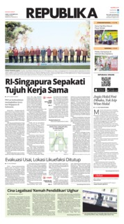 Cover Koran Republika 12 Oktober 2018