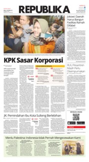 Cover Koran Republika 17 Oktober 2018