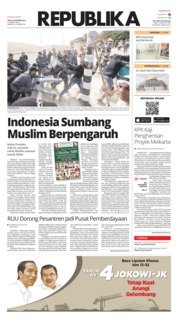 Cover Koran Republika 20 Oktober 2018