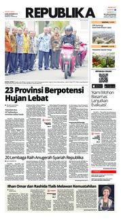 Cover Koran Republika 08 November 2018
