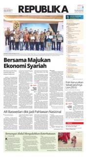 Cover Koran Republika 09 November 2018